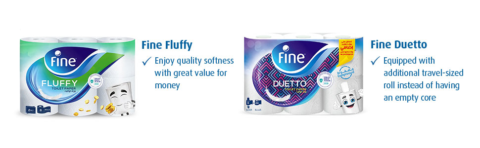 Fine Toilet paper