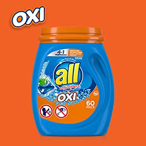 all OXI Whitens and Brightens
