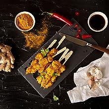 Recette à consulter : brochettes de poulet