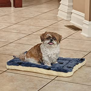 New Puppy Checklist: Reversible Paw Print Pet Bed