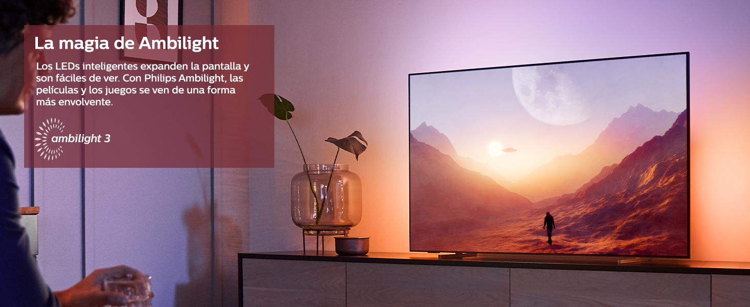 ambilight tv, tv ambilight, televisor ambilight, philips ambilight