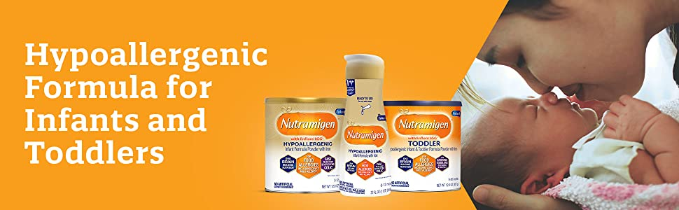hypoallergenic formula for infants and toddlers