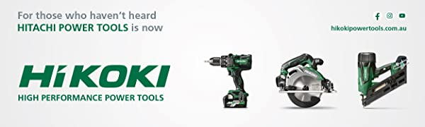 Hitachi Hikoki power tools
