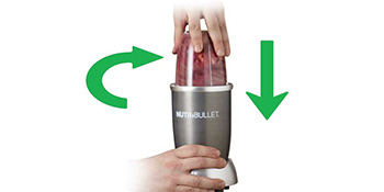 NutriBullet N9C-0928 Extractor de Nutrientes, 1000 W, Silver