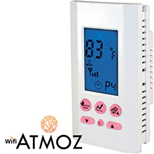 atmoz wifi wi-fi line voltage thermostat