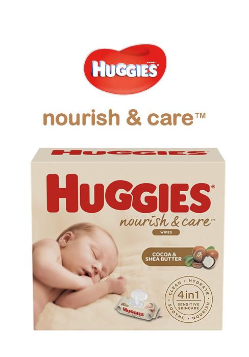 Nourish and Care Skin Moisturizing Baby Wipes