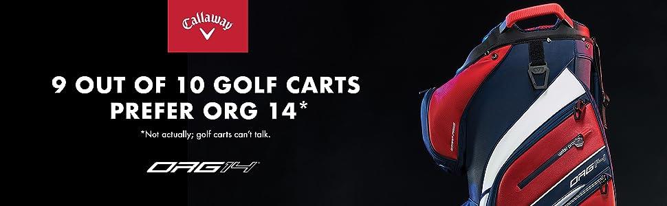 org 14 golf bags