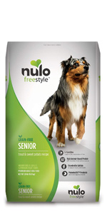 Freestyle Senior Dog Dry Kibble - Trout