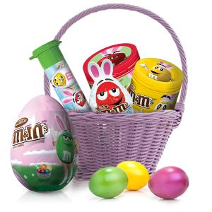 Celebrate Easter Sunday with chocolate surprise eggs and gifts by M&M'S Candy