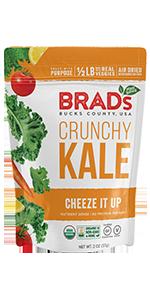 crunchy Kale Cheeze It Up