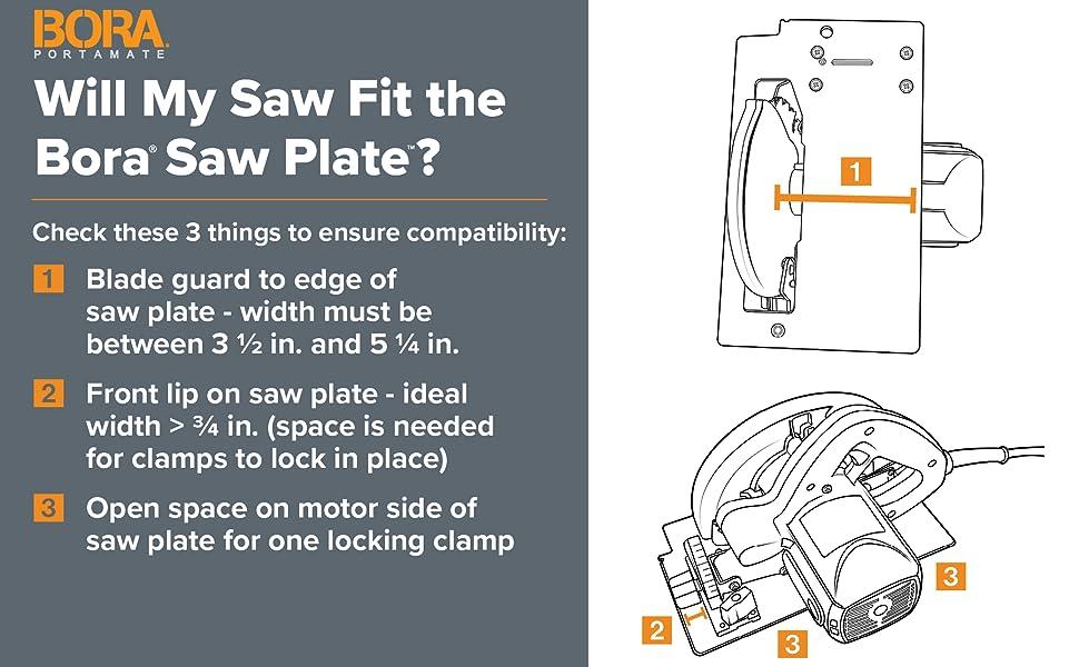 saw plate