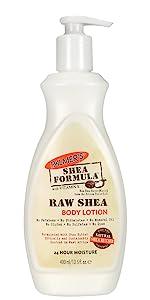 Raw Shea body lotion pump