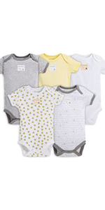 Burts Bees Baby Bath Essentials Bathing Tub Washcloth Towel Hooded Organic Cotton Terry Knit Unisex