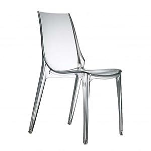 Scab Design 2652-100 Silla, 88x55x49 cm: Amazon.es: Hogar