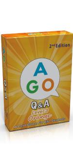 AGO Q&A 英語 カードゲーム