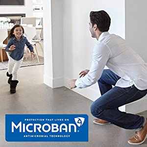 microban, kwikset, kwikset with microban, antimicrobial protection, clean, protect