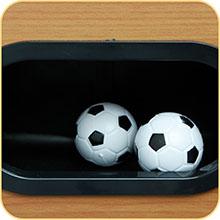 COLORBABY - Futbolín de Madera - 121 x 61 x 79 cm (85325): Amazon ...