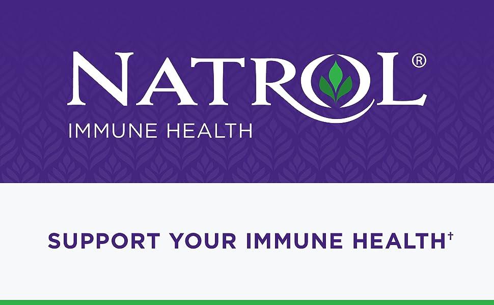 Natrol Immune Health. Support Your Immune Health†