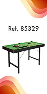 COLORBABY - Billar de Madera Snooker (85326): Amazon.es: Juguetes ...