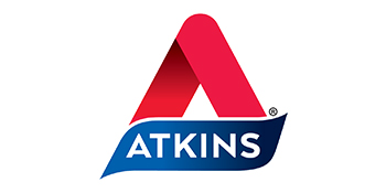 atkins logo low carb keto friendly diet lifestyle snack bars