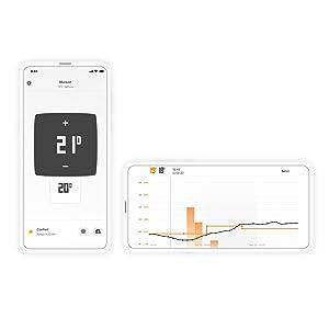 Netatmo NTH01-ES-EC Termostato Wifi Inteligente para caldera ...
