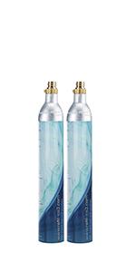 Levivo, botella para gasificadora, gas para agua, cócteles y ...