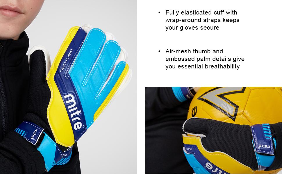 mitre miter soccer gloves golie gloves goaly gloves goalkeeper gloves