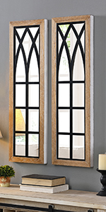 mirror sets, farmhouse, arched mirrors