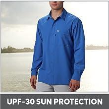 UPF-30 Sun Protection