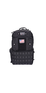 Tactical Tall Range Backpack