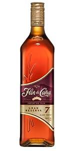 Ron Flor de Caña 7 Años Gran Reserva - 1 botella de 70 cl ...
