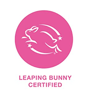 Leaping Bunny Certified*