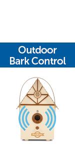 outdoor bark control barking anti-bark static shock ultrasonic sonic tone correction no-shock