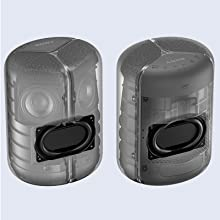 Dual passive radiators