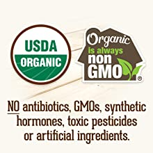 All Organic Valley products are made without antibiotics, GMOs, synthetic hormones or pesticides