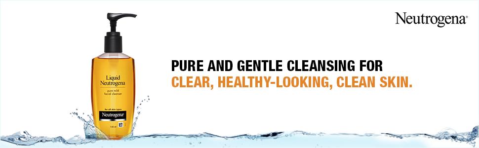 Neutrogena; Neutrogena facewash; Cleanser; Mild facial cleanser; Cleanser for dry skin; Neutrogena