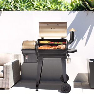 pellet grill, smoker, BBQ, outdoor cooking, grilling, versatile grilling