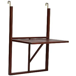 Ultranatura 331400000269 - Mesa de balcón, mesa colgante y ...