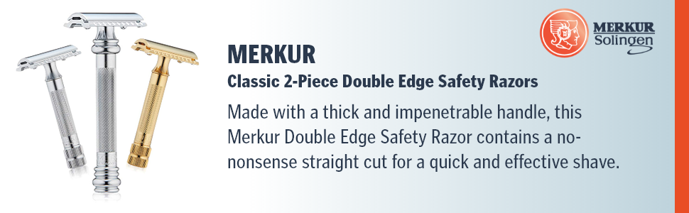 Merkur Classic 2 pieces