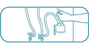Filtrete High Performance Drinking Water System Reduces
