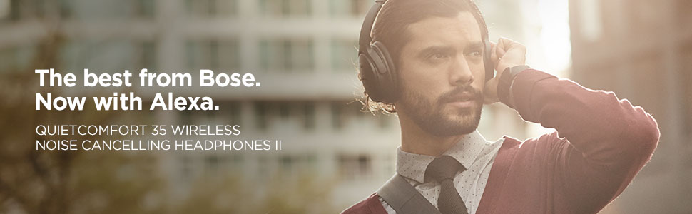 bose; quietcomfort 35; qc 35; quiet comfort 35; noise cancelling headphones; wireless headphones
