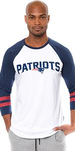 National Football League Raglan t-shirt Light Beige and color New in SEALED bag