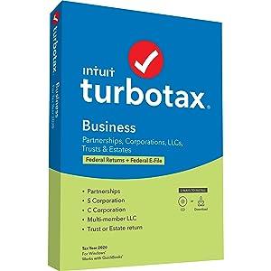 TurboTax Business 2020