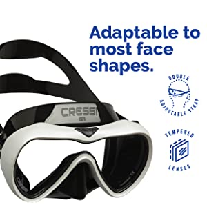 Details about  /Cressi Air Mask