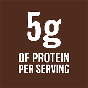 5g protein per serving