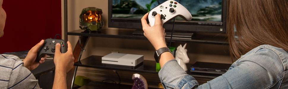 PowerA - Mando Xbox one/Pc con cable Araña Relampago (Xbox One): Amazon.es: Videojuegos
