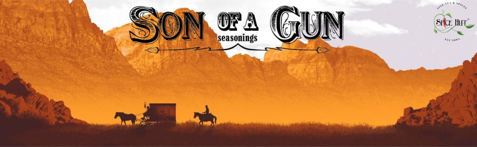 son of a gun seasonings a plus banner - the spice hut