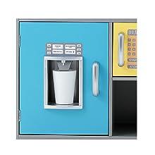 WOOMAX - Cocinita de madera y Bar Retro (ColorBaby 85287): Amazon ...