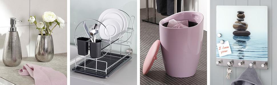 WENKO è il vostro esperto di utensili utili per la casa, moderni accessori da bagno