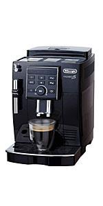デロンギ コンパクト全自動コーヒーマシン マグニフィカS ブラック